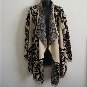 Fashion to Figure Shawl Collar Knitted  Cardigan